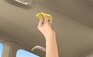 Clean the Interior Roof of a Car