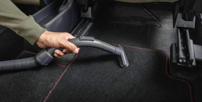 Maintenance of a Wet Car Carpet