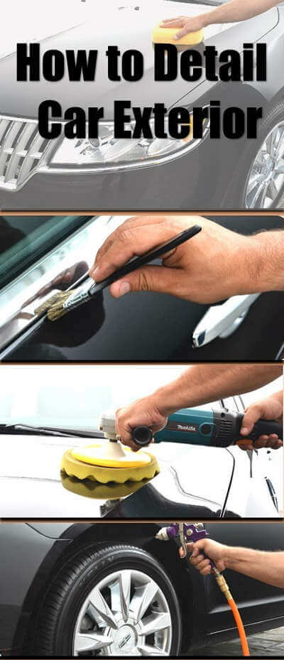 Car exterior cleaning guide