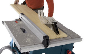 use of table saw
