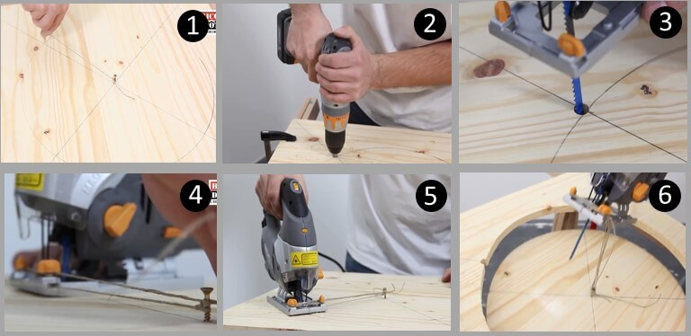 How to Cut a Circle with the Jigsaw