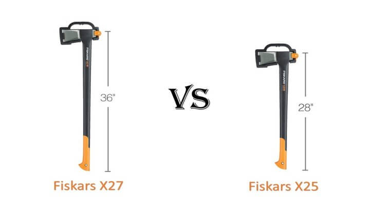 Fiskars X27 vs X25: Which One Is Better?