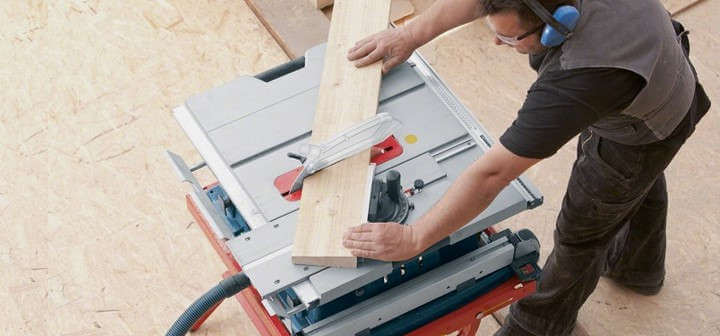 table saw crosscut