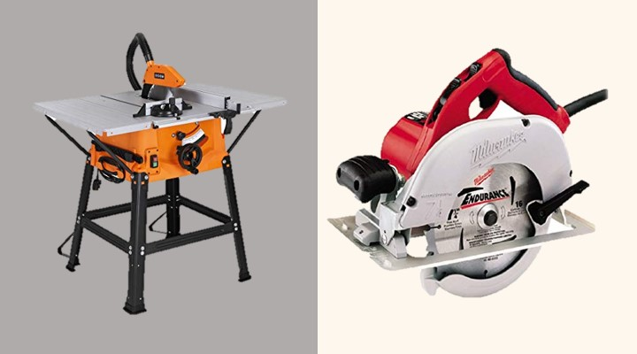 table saw vs circular saw Overview
