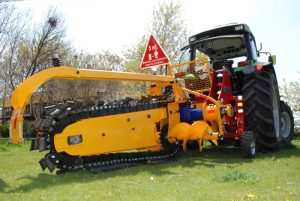 Tractor Mount Trencher