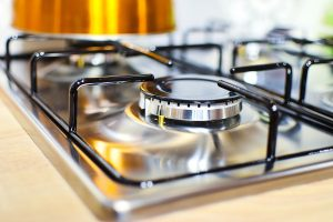 clean kitchen stove top